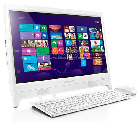 Lenovo C260 Pc All In One Lenovo C260 Celeron 174 Windows 10 Ii Blanco