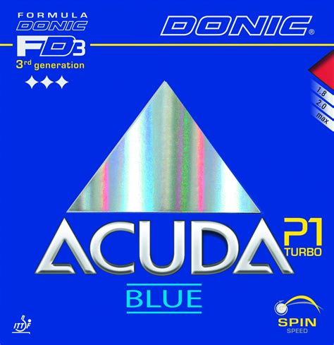 Donic Acuda Blue P1 donic acuda blue p1 turbo tabletennis11 tt11