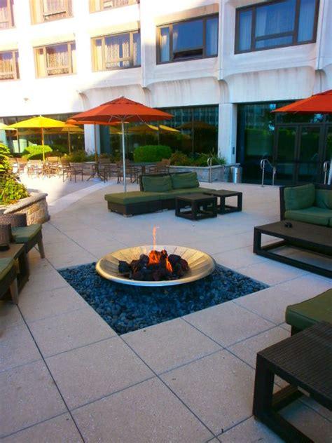 quot terrasse mit feuerstelle quot hotel washington in - Terrasse Mit Feuerstelle