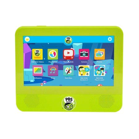 pbs kids playtime tablet dvd player android  nougat  kid safe tablet dvd player ages