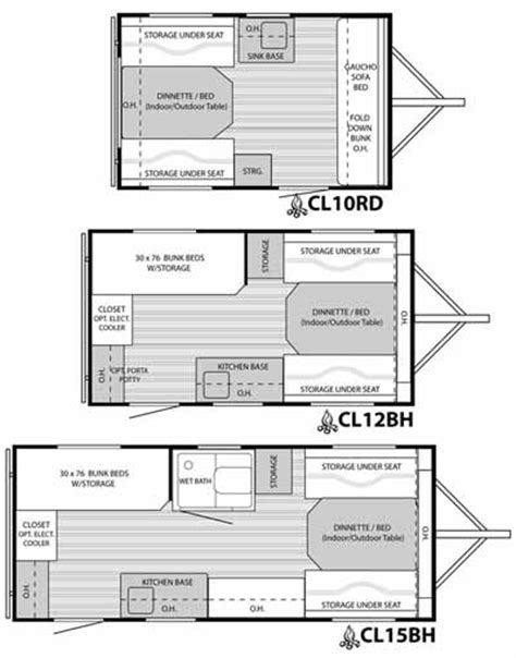 small travel trailer floor plans roaming times rv news and overviews