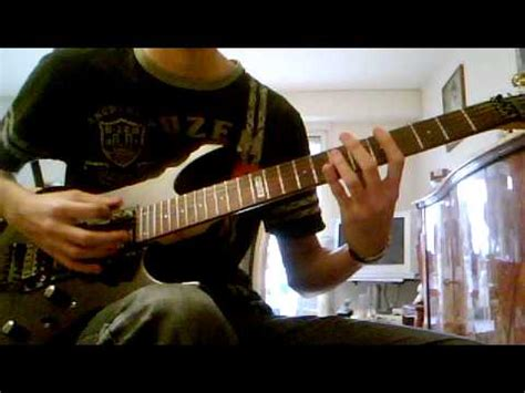 disappear bullet for my bullet for my quot disappear quot guitar cover by julien