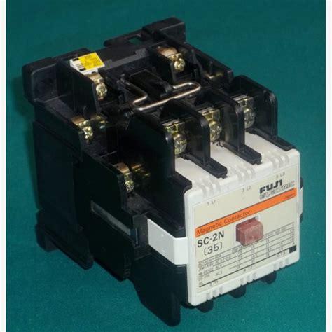 Contactor Sc 4 1 Fuji Electric fuji electric sc 2n magnetic contactor