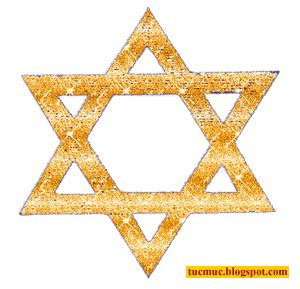 Profile and paste where you want the judaism symbol graphics to appear