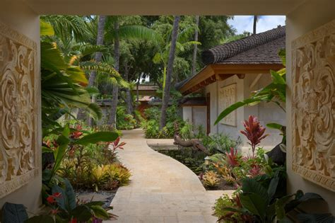 bali house tropical kitchen hawaii by rick ryniak bali house tropical landscape hawaii by rick