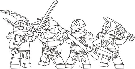 lego ninjago season 4 coloring pages free printable ninjago coloring pages for kids