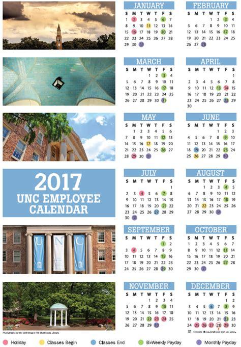Calendar Unc 2016 Employee Leave Calendar Unc Calendar Template 2016