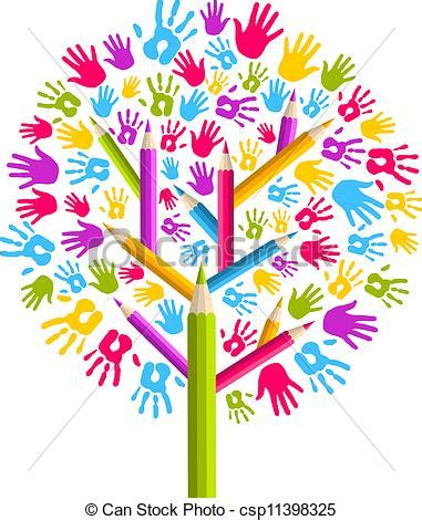 Custom Home Plans And Pricing vector illustration of diversity education tree hands