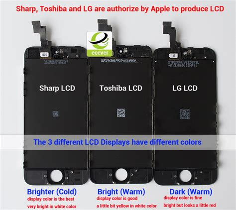 Top Lcd Apple Iphone 5 5s Lcd Original New White Black apple iphone lcd screen divides sharp toshiba and lg versions ecever