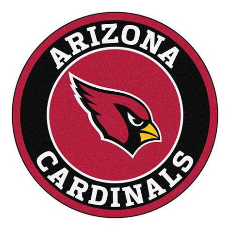 Home Decor Store Houston by Fanmats Nfl Arizona Cardinals Black 2 Ft 3 In X 2 Ft 3