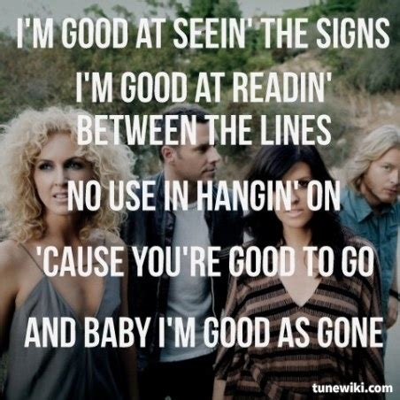 country music gone for good 49 best images about country song lyrics on pinterest