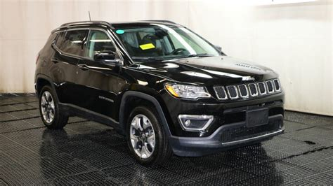 jeep compass 2018 black 2018 jeep compass limited sport utility in braintree