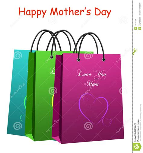 s day shopping shopping bag s day royalty free stock image