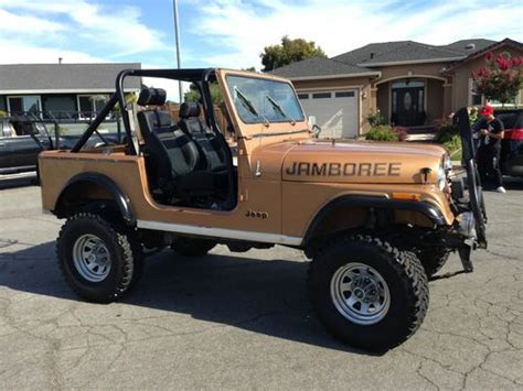 1982 jeep jamboree find used 1982 cj7 30th anniversary edition jamboree