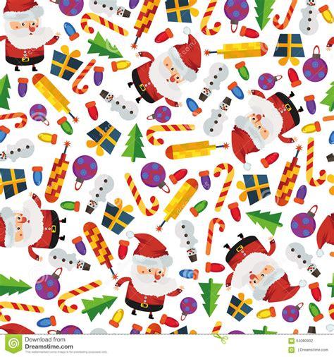 new year seamless pattern seamless pattern new year stock illustration image 64080902