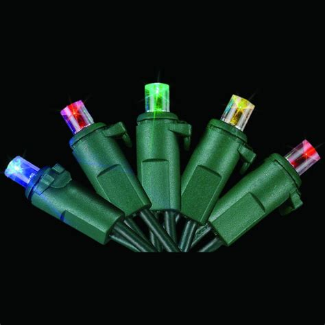 Led Multicolor Light Bulb Starlite Creations 60 Light Led Multicolor Dome Light Set Sl001 M060 A The Home Depot