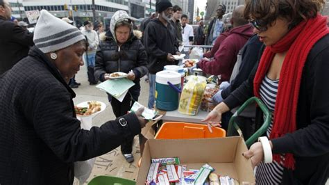Should Food Be Left For The Homeless by Philly Bans Food Distribution Continuing National