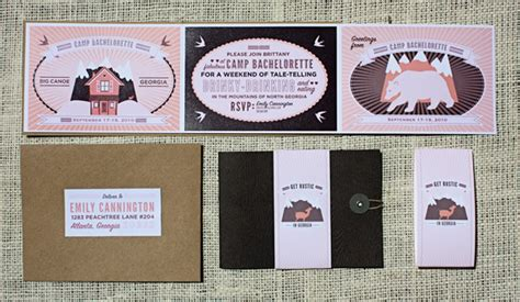 Handmade Bachelorette Invitations - c bachelorette custom invitations invitation crush