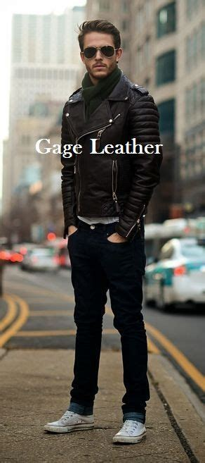 Jaket Kulit Sintetis Ziper Style Zip 026 57 best gage leather jacket images on leather jackets fashion and jackets