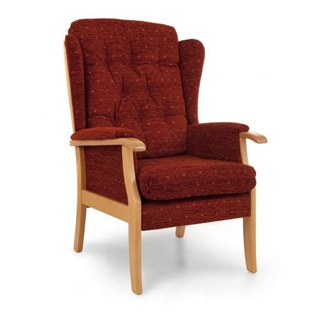 back chair while chelmer high back wing chair easy chair company bishop