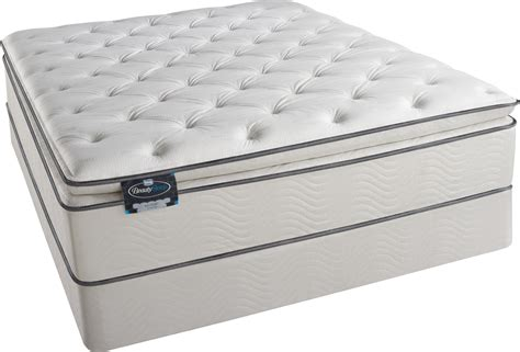 x simmons beautysleep pillow top foam encased
