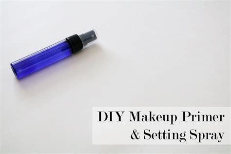 diy all makeup primer setting spray fresh modesty