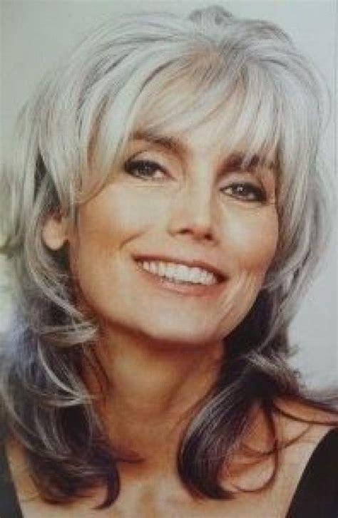 older models with short gray hair 20 best long gray hair images on pinterest silver hair