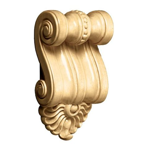 White Corbels Decorative Hardware Scrolled Corbels By White River