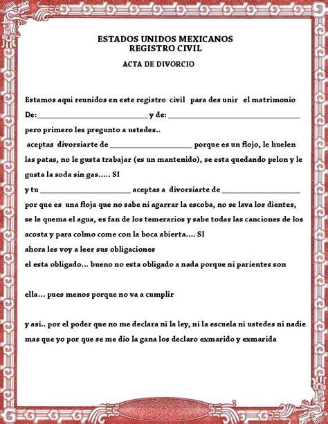 certificado de matrimonio para kermes acta de matrimonio y divorcio para la kermes o festival