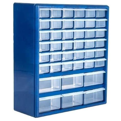 plastic drawer parts organizer hardware storage hanging cabinet home crafts bin garage