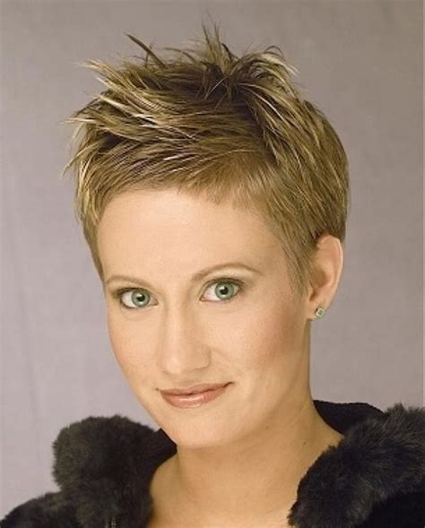 spikey styles for grey hair short spiky haircuts for african american women