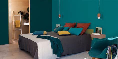 chambre mur bleu tendance couleur et peinture 2018 quelles teintes