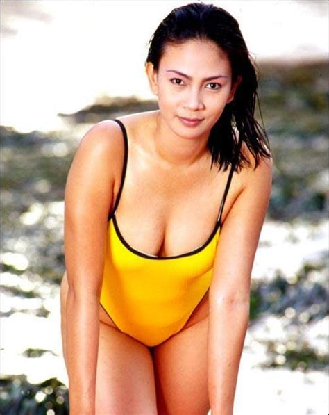 foto film jadul no sensor kumpulan foto jadul dian nitami with yellow swimsuit