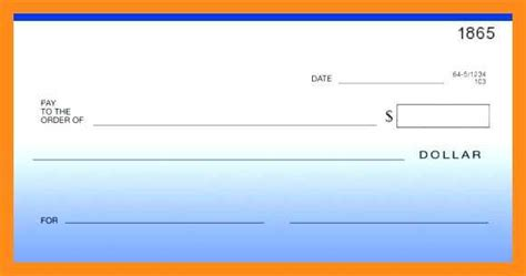 12 13 Blank Cheque Template Editable Lascazuelasphilly Com Editable Blank Check Template