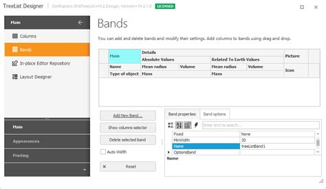 layout treeview winforms treelist bands and conditional formatting now