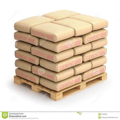 Ein Sack Zement by Cement Sacks Stock Illustration Illustration Of Masonry