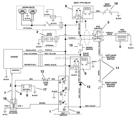 scag zero turn lawn mower wiring diagram zero