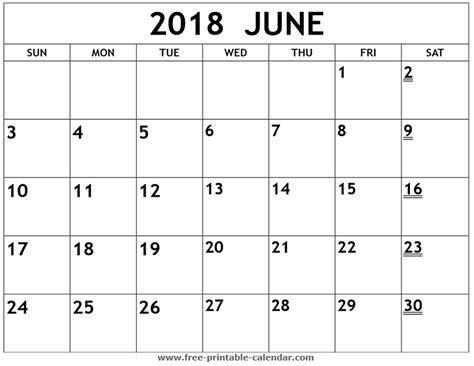 printable calendar june 2018 printable 2018 june calendar print 2018 calendar