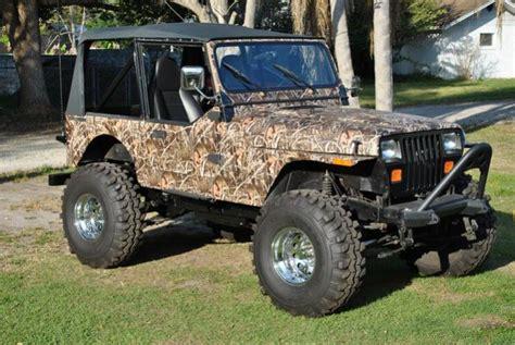 camo jeep yj camo4u camo jeep wraps