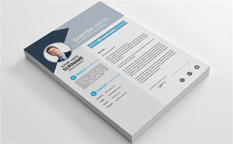 Resume Template Smith by Sawyer Smith Resume Template 69251