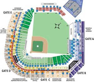 colorado rockies seat map 2015 season ticket information colorado rockies