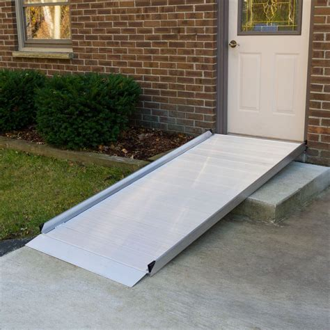 silver spring aluminum wheelchair access ramps discount ramps