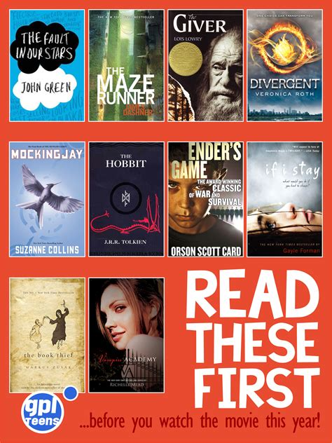 best teen books 2014 2014 movies based on ya books gpl teens