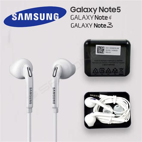 Headset Samsung Original Note 3 oem original samsung galaxy note 5 4 3 2 edge headphone earphones headset earbud ebay