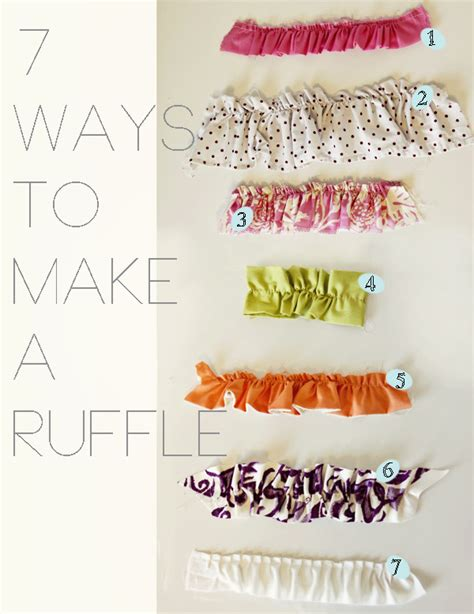 pattern making ruffles 12 how to sew ruffles the easy way tip junkie