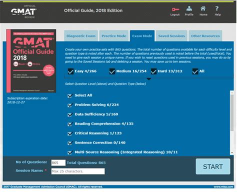 Mba Store Gmac by 5 Steps To Building Gmat Practice Sets
