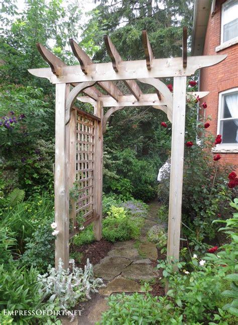 rose trellis plans 20 arbor trellis obelisks ideas empress of dirt