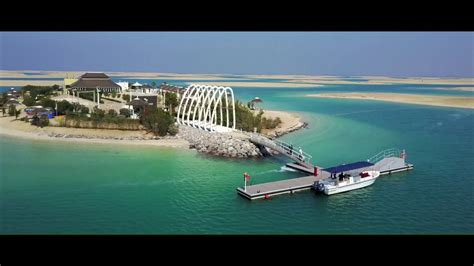 scow island the island the world islands dubai youtube