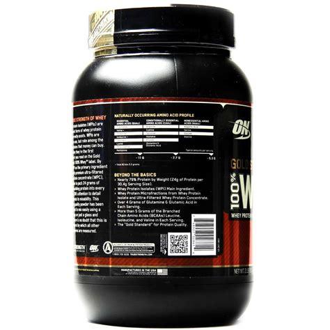 Whey Protein Optimum optimum nutrition gold standard 100 whey rich