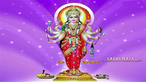 desktop themes hindu gods sadhi mata hindu god wallpaper